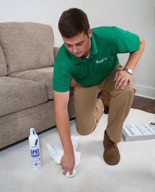 Chem-Dry of Leonard's Trained Technician Use Specialty Carpet Stain Remover in San Francisco CA