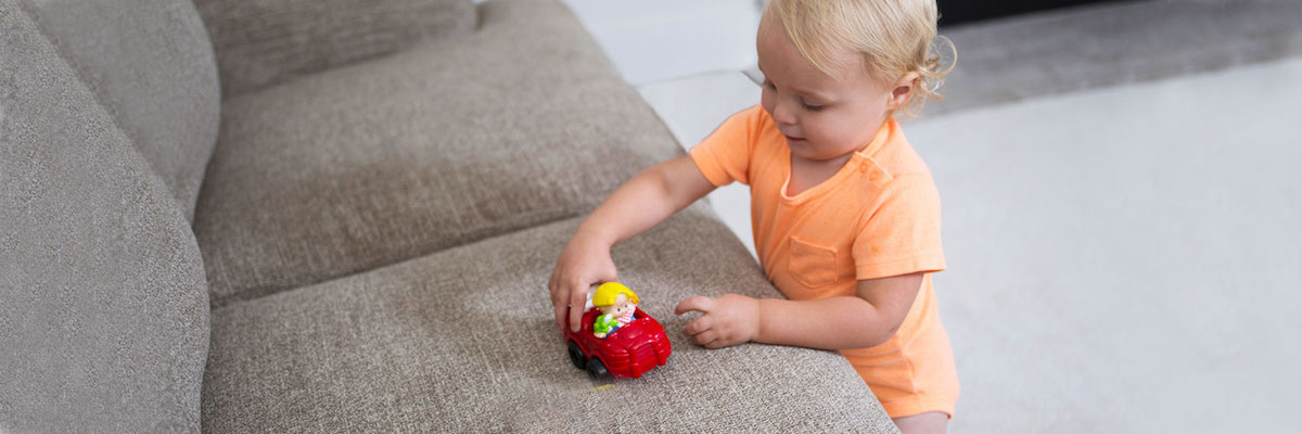 Green Upholstery Cleaning Services by Chem-Dry by Leonard in San Francisco are Safe For Kids