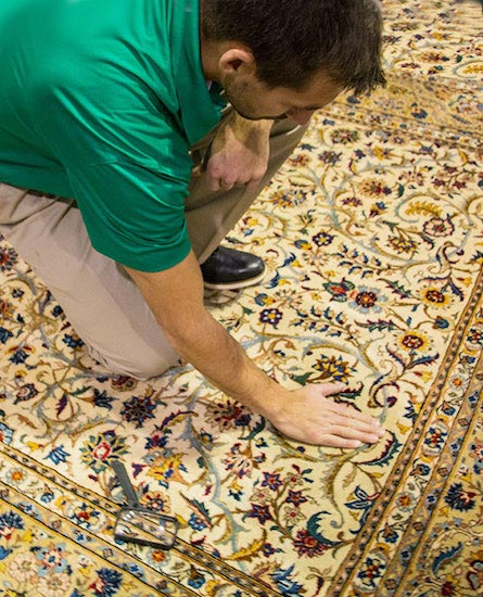 Professional Area and Oriental Rug Cleaning by Chem-Dry by Leonard in San Francisco CA